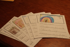 Letters from first graders from Forest Avenue School