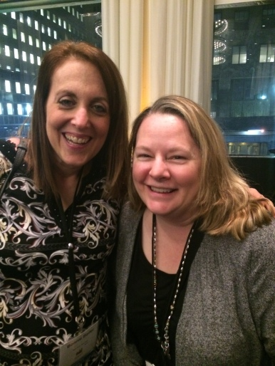 With Bonnie Bader, Editor of Worm Weather, at SCBWI New York 2015